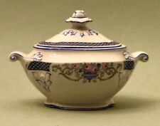 Antique Art-Deco Style Sugar Bowl with Lid by Baker and Co. Ltd. / England