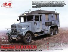 ICM 1/35 Henschel 33 D1 Kfz. 72 Communication Truck # 35467