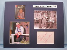 Walter Brennan in The Real McCoys signed by Richard Crenna as Luke