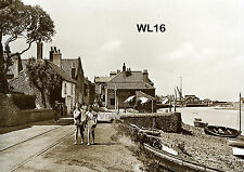 North Norfolk Postcard - Wells next the Sea - The East End - WL16