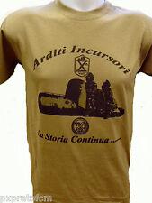 T-shirt Maglietta Marina Militare Arditi Incursori La Storia Continua Sabbia