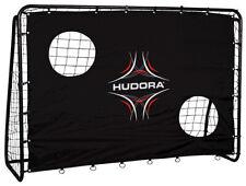 Hudora 76922 extra stabiles Fußballtor Freekick Tor mit Torwand 213 x 152 cm
