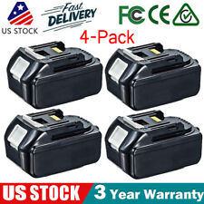 4x 18V 1830 3.0Ah Lithium-Ion Battery for Makita BL1815 BL1830 BL1840 Power Tool