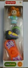 Fisher Price Little People Girl Winter Snowboard Kitty Cat Christmas New Maggie