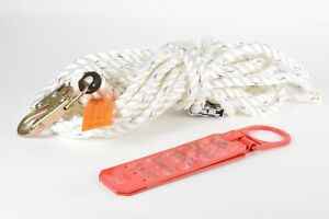 3M 0221-50RG 50ft (15.2m) Vertical Lifeline Rope Adjuster / Reusable Roof Anchor