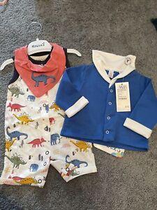Baby Boy Clothes Bundle BNWT 0-3 Months Designer Clothes Rrp Over £50