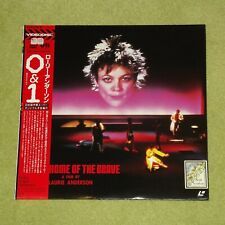 LAURIE ANDERSON Home Of The Brave: A Film By [1986] - RARE JAPAN LASERDISC + OBI
