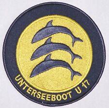 "Patch Patch insignia submarino U-Boot ""17"" s196... a2232"