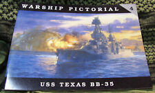 USS TEXAS BB-35 WARSHIP PICTORIAL #4 CLASSIC WARSHIPS PUB RARE OOP