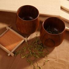Holz Weinbecher Kaffeetasse Holzbecher Trinkbecher Retro Becher Tasse 8cm x7.5cm