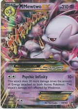POKEMON Mega M Mewtwo EX 64/162 - XY Breakthrough - Ultra Rare Holo MINT/NM