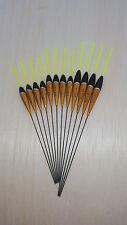 12 x Assorted High Quality Pole Fishing Floats (Pack 305Y12)