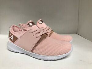 Nautica Kappil Girls Athletic Sneakers Rose Gold Youth Size 4