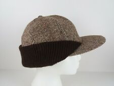 Vintage Tweed Hunting Hat USA Size Large
