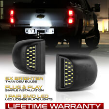 1999-2013 Chevy Silverado Avalanche BRIGHT SMD LED License Plate Lights Lamp SET