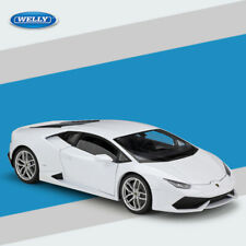 Boys Gift 1/18 Lamborghini Car Model Huracan LP610 Diecast Toys White With Case