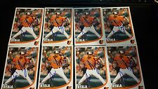 LUIS AYALA SIGNED AUTOGRAPH CARD # 38 BALTIMORE ORIOLES