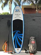 Super Strong Double Layer Inflatable Surfboard SUP 9' with Paddle and Pump blue