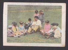 Gene Tunney 1930s Spanish Boxing Card B Talking to Children Summer Day