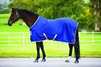 Horseware Mio STABLE SHEET Lightweight Travel Cooler Rug Navy/Tan 5'6'' -7'0''
