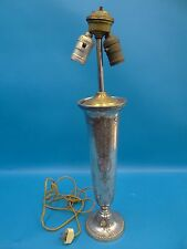 Vintage Silverplate Hand Hammered Reed & Barton 4004 1'2 Table Lamp Light Parts