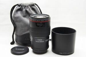 """""""MINT"""" Canon EF 100mm F2.8L MACRO IS USM AF Lens for EOS EF Mount #210823a"""