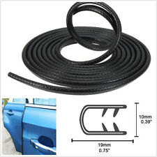 "5M U-Channel 0.75""x0.39"" Flexible Car Rubber Sealing Strip Edge Trim Protection"