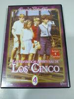Los Cinco Las Fantasticas Aventuras Volumen 4 - DVD Español Ingles Region 2 - 3T