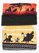 """Disney """"The Lion King"""" Bedding Blanket Comforter & Pillowcase Set Full/Queen New"""