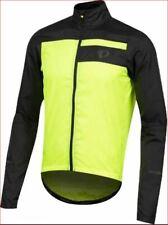 new Pearl Izumi men jacket scotchlite elite escape barr black green S MSRP $90