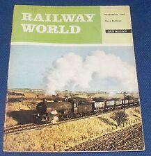 RAILWAY WORLD NOVEMBER 1967 - MEMORIES OF STEWARTS LANE
