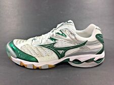 Mizuno™ ~ WAVE LIGHTNING 6 Volleyball Shoes ~ Green ~ Women Sz 13 ~ VERY GOOD
