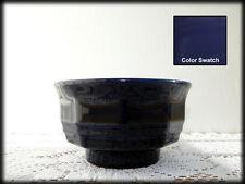 Finger Cereal Bowl 'Color Medley' Pfaltzgraff Glossy Cobalt Blue 10-Sided Footed