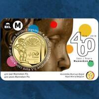 Belgien - 400 Jahre Manneken Pis - 2,5 Euro 2019 Coincard - Niederlande