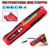 Coaxial Cable Wire Pen Cutter Stripper Hand Pliers Tools for Cable Stripping