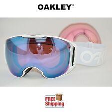 OAKLEY® AIRBRAKE™ XL PRIZM™ SNOW BOARD SKI GOGGLES WHITEOUT W/ SAPPHIRE + PINK