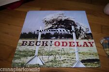 Rare Beck Signed Odelay Vinyl Record - WOW Original Autograph IN PERSON -