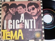 "7"" - Tema - I Giganti & La Bomba Atomica - 1966 Italy # 1058"