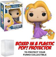 Funko POP! Disney ~ RAPUNZEL (#223)(FLOWING DRESS/GOWN) FIGURE w/Protector Case