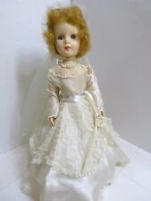 "American Character 17"" SWEET SUE BRIDE Doll (1950s) All ORIGINAL - Excellent"