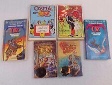 Lot Of 6 - Paperbacks - OZ - Baum - Thompson - Magic - Ozma - Pirates - Tik-Tok