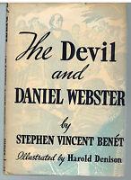 The Devil & Daniel Webster by Stephen Vincent Benet 1937 1st Ed. Rare Book! $