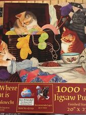 Home Is Where My Cat Is Jigsaw Puzzle 1000 Piece