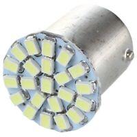 1X(2 X 1156 Ba15s/P21W 1206 AMPOULE LAMPE SMD 22 LEDs BLANC 12V POUR VOITURE f5