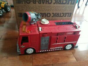 Hasbro Tonka Action World Fire Truck Activity Set Vintage Rare 1996. SOLD AS IS