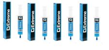 4X Auto Luft Conditioner Versiegelung A/C Stop Leck Extrem 30ml Adapter R134a