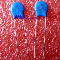 50PCS 07D220K 7MM 220K 22V Piezo Resistor Pressure Sensitive Varistors NEW
