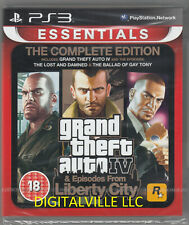 Gta Iv Complete Ps3 Grand Theft Auto PlayStation 3 Brand New Factory Sealed
