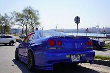 "Nissan Skyline R34 (4 doors) Rear Fenders +45mm ""Neksa autotuning"""