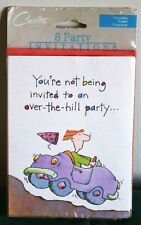 Carlton Cards~You're Not Being Invited To An Over The Hill Party~Invitation~8PK